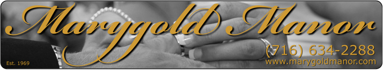 Buffalo Wedding Reception Venue, Marygold Manor :: (716) 634-2288