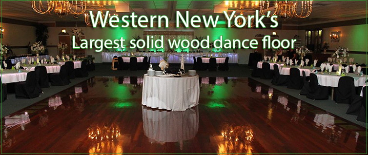 WNY Largest solid wood dance floor!